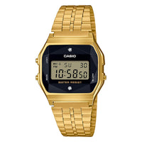Casio Retro Gold Steel Digital Men's Watch - A159WGED-1D