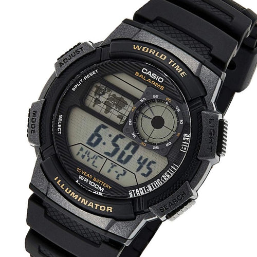 Casio Illuminator Digital Men's Sport Watch - AE1000W-1A