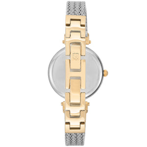 Anne Klein Swarovski Crystal Accents Mesh Ladies Watch - AK1907SVTT