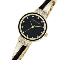 Anne Klein Swarovski Crystal Accents Bangle Ladies Watch - AK2216BKGB