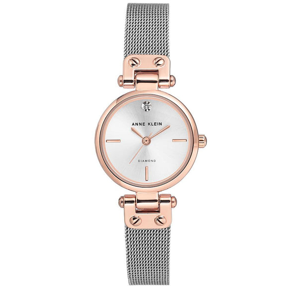 Anne Klein Dress Stainless Steel Ladies Watch - AK3003SVRT