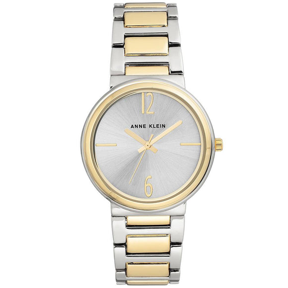 Anne Klein Gold Stainless Steel Ladies Watch - AK3169SVTT