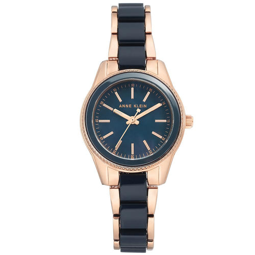 Anne Klein Rose Gold Bracelet Ladies Watch - AK3212NVRG