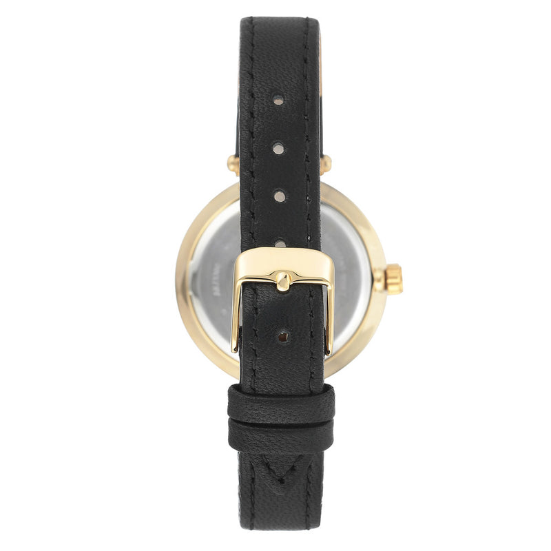 Anne Klein Swarovski Crystal Accents Mesh Ladies Watch - AK3380BKBK