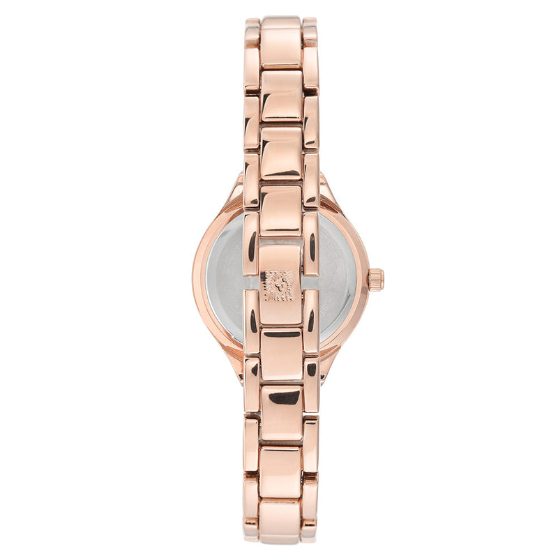 Anne Klein Swarovski Crystal Accents Mesh Ladies Watch - AK3472BYRG