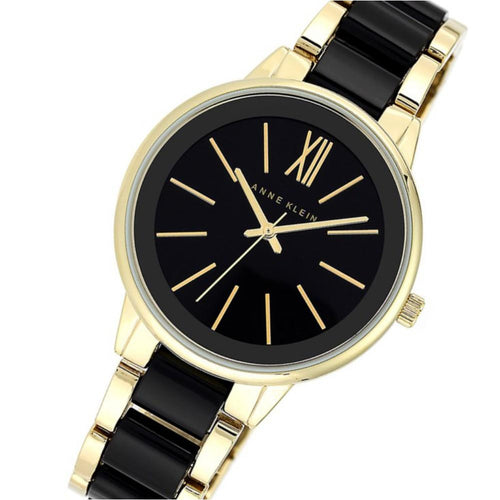 Anne Klein Two-tone Bracelet Ladies Watch - AK1412BKGB