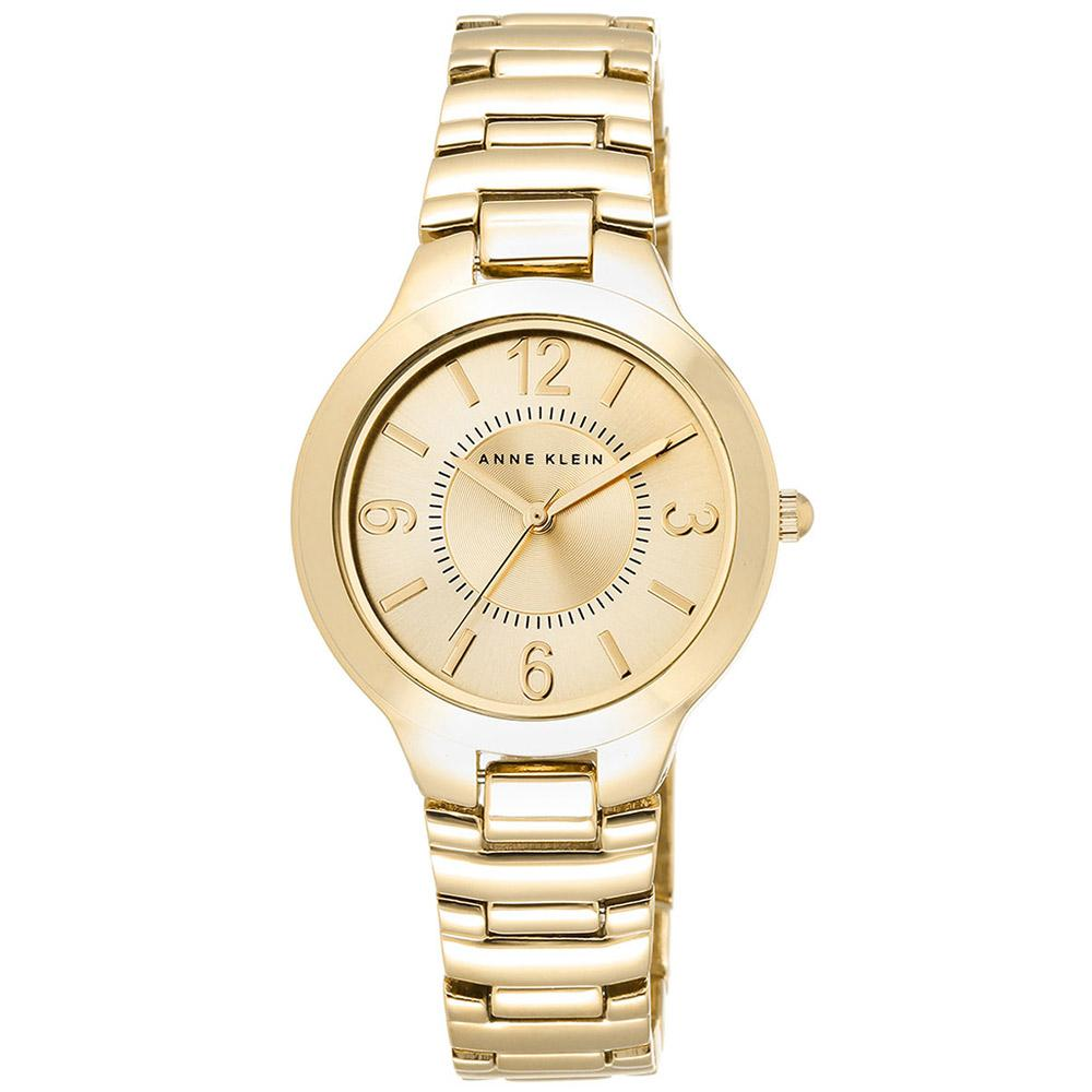 Anne Klein Casual Gold Bracelet Ladies Watch - AK1450CHGP