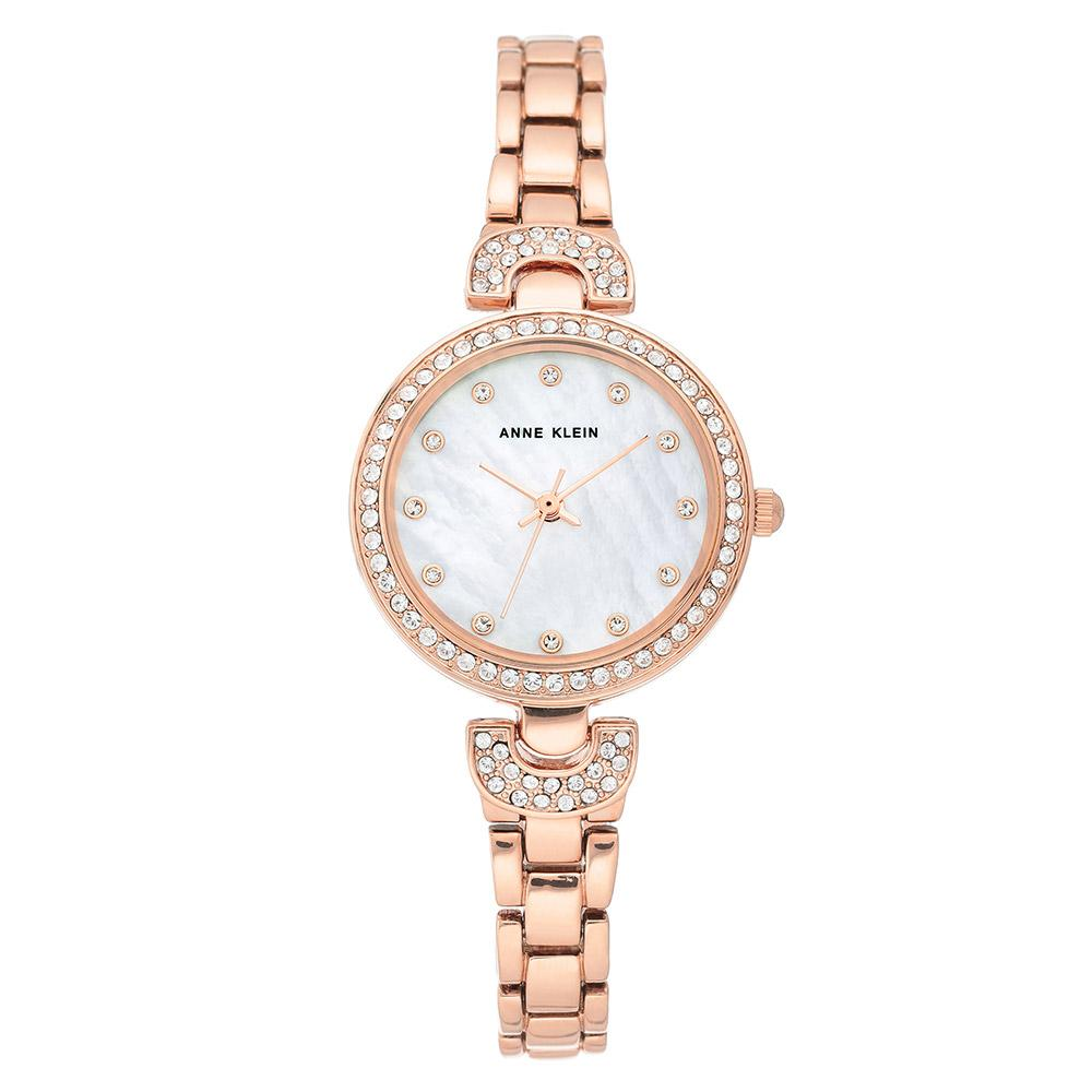 Anne Klein Rose Gold Bracelet Ladies Watch - AK3464MPRG