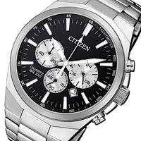 Citizen Gents Multi Function Stainless Steel Quartz Watch - AN8170-59E
