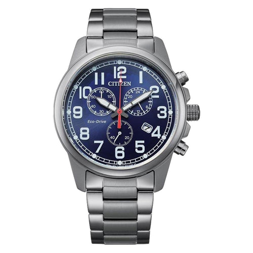 Citizen Stainless Steel Eco-Drive Men's Watch - AT0200-56L