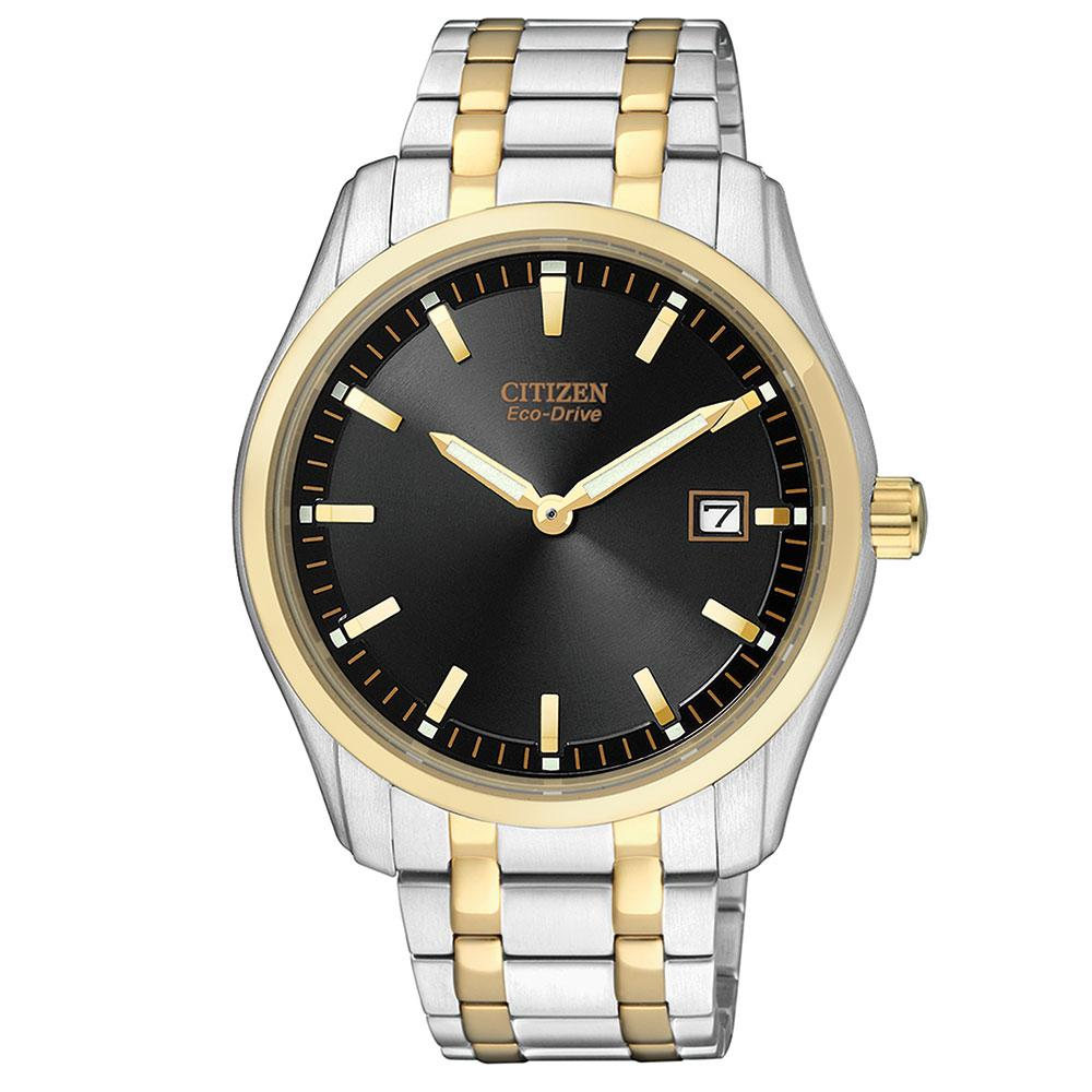 Citizen Gents Dress Eco-Drive Steel Watch - AU1044-58E