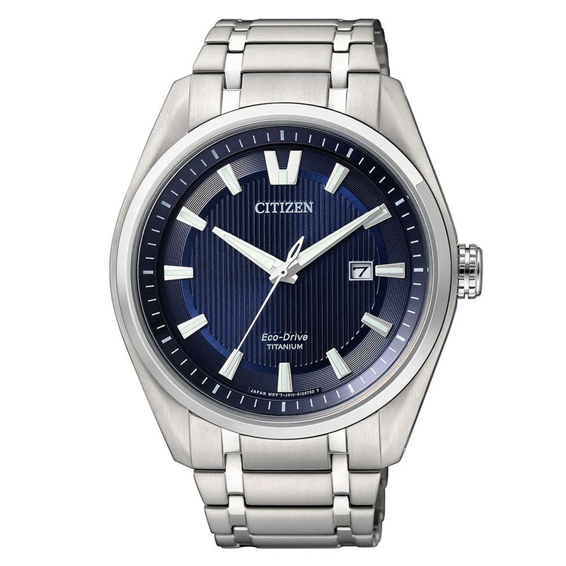 Citizen Gents Super Titanium Eco-Drive Titanium Watch - AW1240-57L