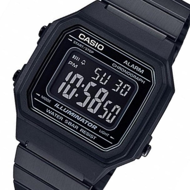Casio 43mm Vintage Series Men's Digital Watch - B650WB-1B