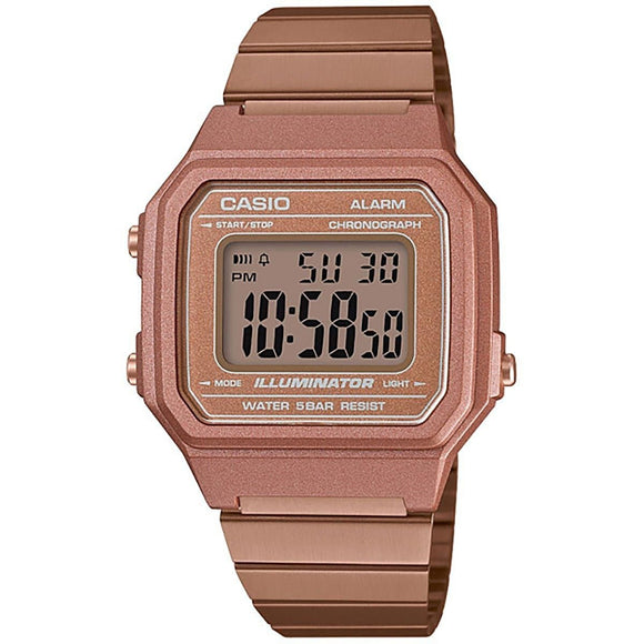 Casio Vintage Men's Digital Stainless Steel Watch - B650WC-5A