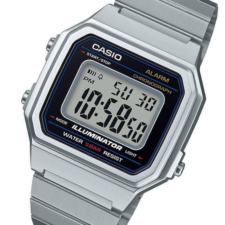... Casio 43mm Vintage Series Men's Digital Watch - B650WD- ...