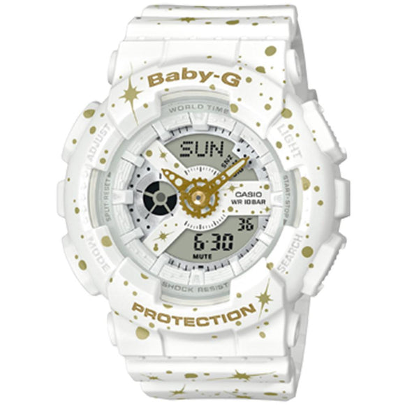 Casio Baby G Ladies Starry Sky Digital Watch - BA110ST-7A