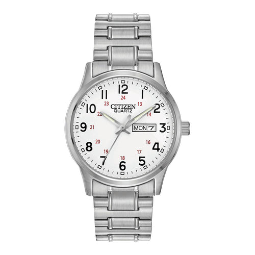Citizen Silver Steel Bracelet Men's Watch - BF0610-91A
