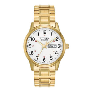 Citizen Gold Steel Bracelet Men's Watch - BF0612-95A