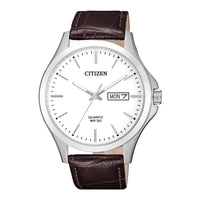 Citizen Classic Leather Couples Watch Set - BF2001-12A and EQ0591-21A