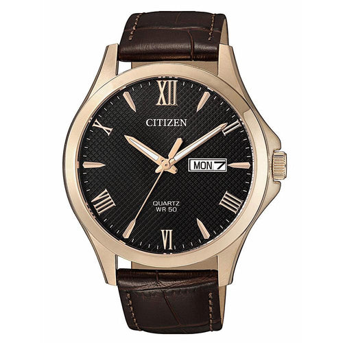 Citizen Leather Men's Watch - BF2023-01H