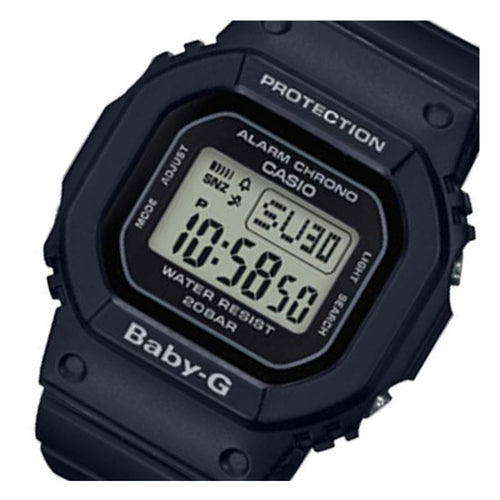 Casio Baby G Black Matte Digital Ladies Watch - BGD560-1D