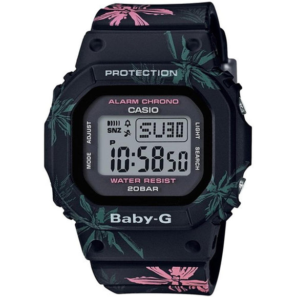 Casio Baby G Ladies Floral Digital Watch - BGD560CF-1D