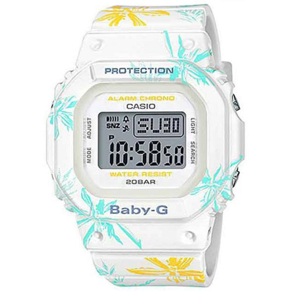 Casio Baby G Ladies Floral Digital Watch - BGD560CF-7D