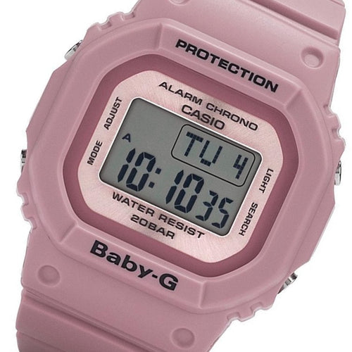 Casio Baby G Pink Digital Ladies Watch - BGD560LF-4W