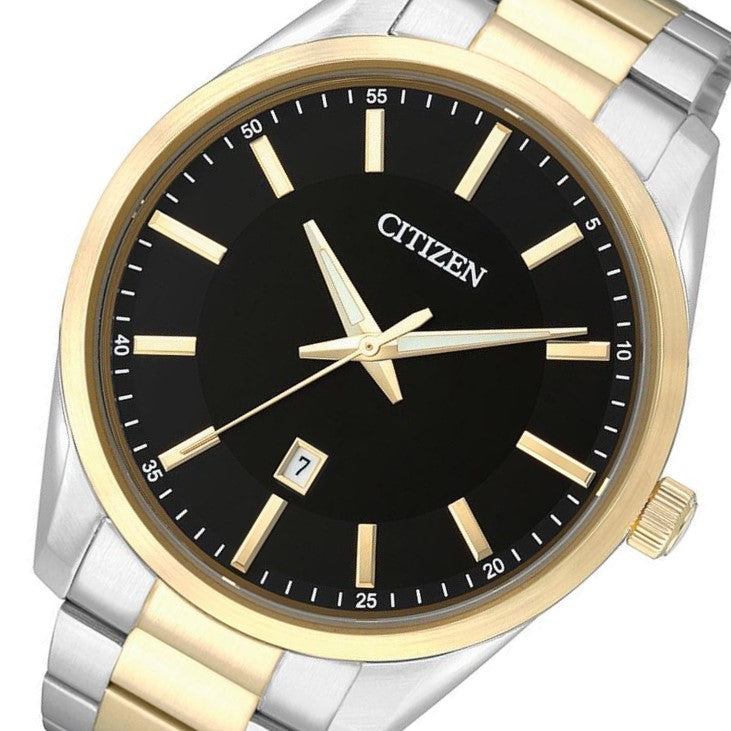 Citizen Gents Two-Tone Stainless Steel Quartz Watch - BI1034-52E