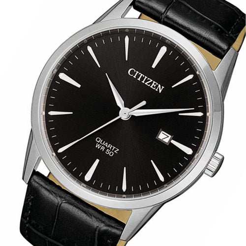 Citizen Leather Men's Watch - BI5000-10E