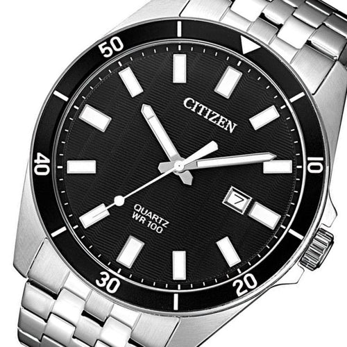 Citizen Gents Stainless Steel Quartz Watch - BI5050-54E