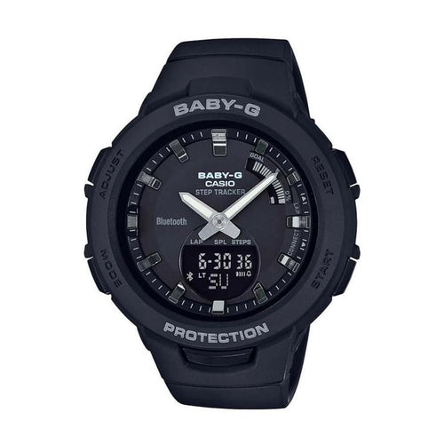 Casio Baby G Bluetooth Black Digital Sports Ladies Watch - BSAB100-1A