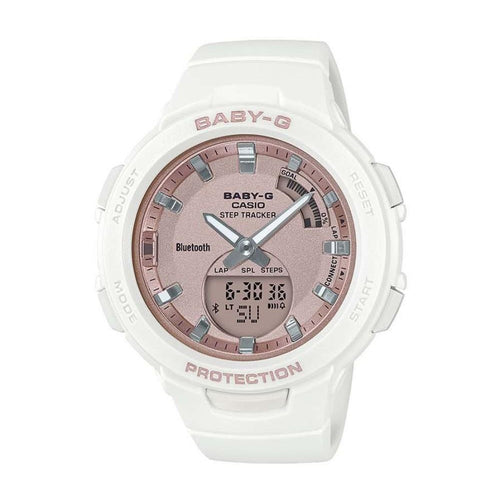 Casio Baby G Step Tracker Bluetooth Sports Ladies Watch - BSAB100MF-7A
