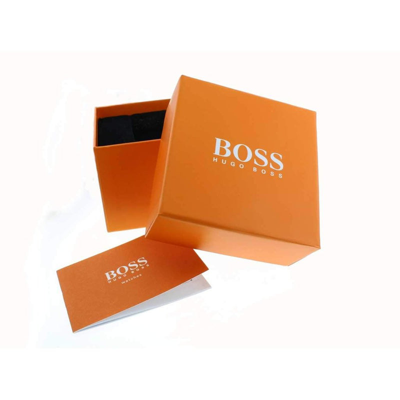 Hugo Boss Orange Bilbao Leather Men's Watch - 1550036