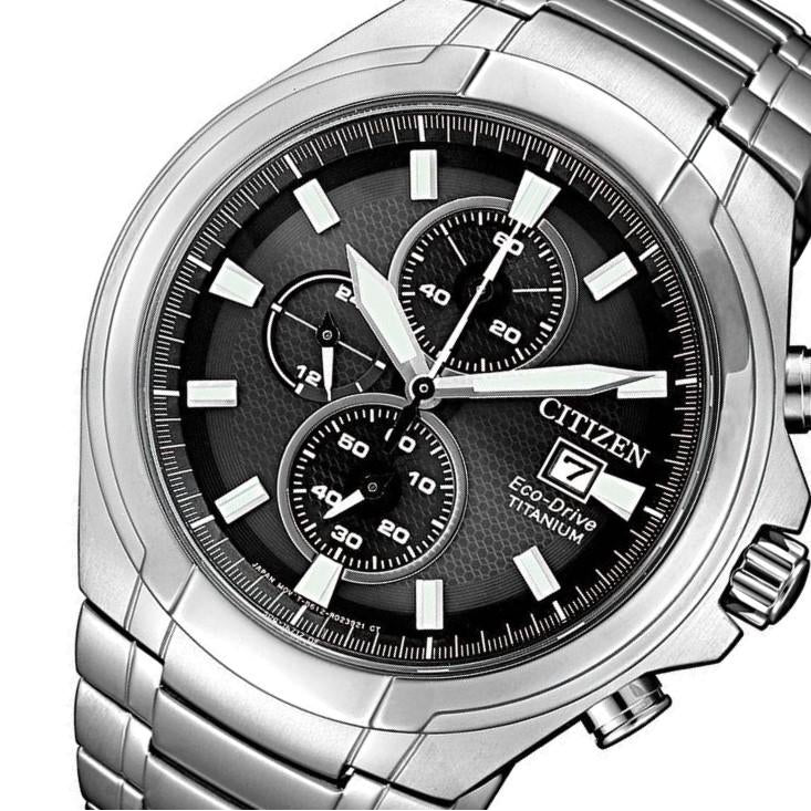 Citizen Gents Super Titanium Eco-Drive Multi-Function Watch - CA0700-86E