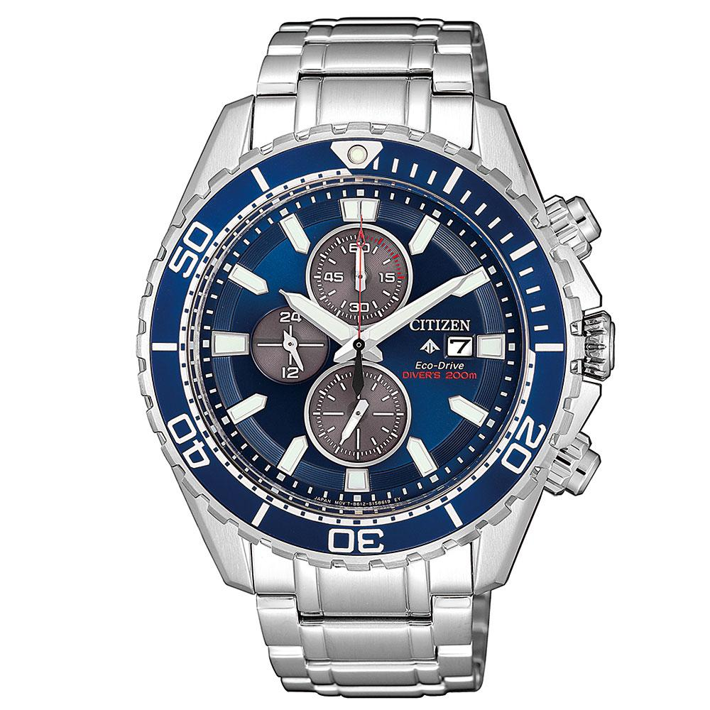 Citizen Promaster Marine Gents Eco-Drive Stainless Steel Diver Watch - CA0710-82L