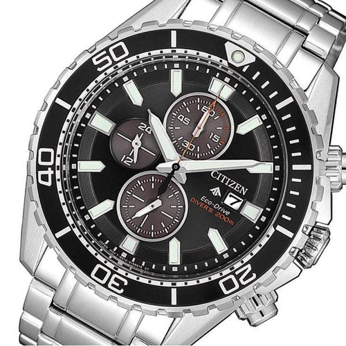 Citizen Promaster Marine Gents Eco-Drive Stainless Steel Diver Men's Watch - CA0711-80H
