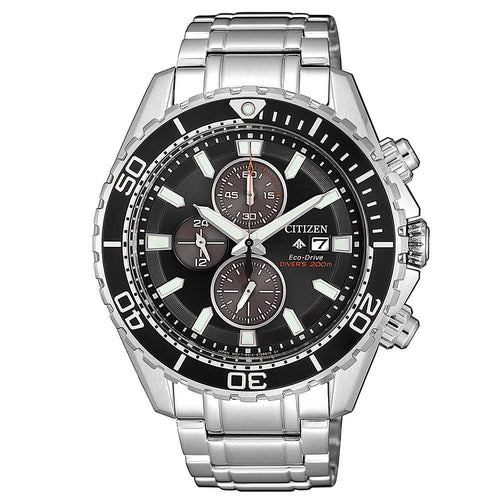 Citizen Promaster Marine Gents Eco-Drive Stainless Steel Diver Watch - CA0711-80H