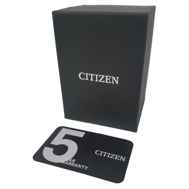 Citizen Steel Men's Automatic Watch - NJ0100-89E