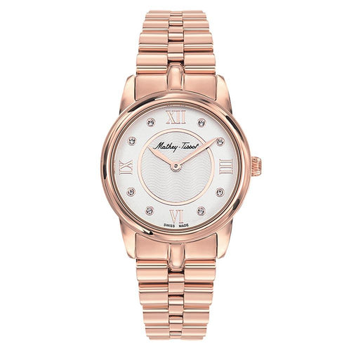 Mathey-Tissot Artemis Stainless Steel White Dial Women's Swiss Made Watch - D1086PI