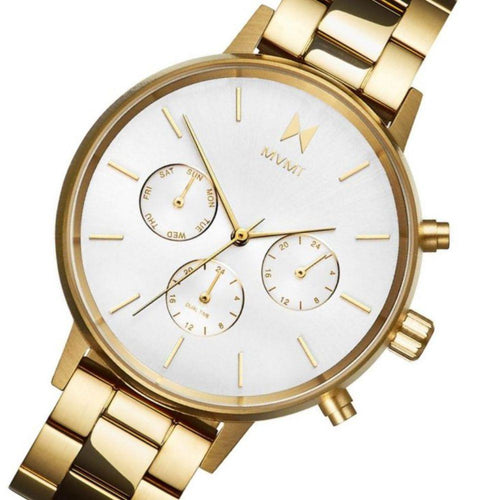 MVMT Nova Gold Steel Ladies Multi-function Watch - DFC01G