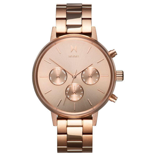 MVMT Nova Rose Gold Steel Ladies Multi-function Watch - DFC01RG