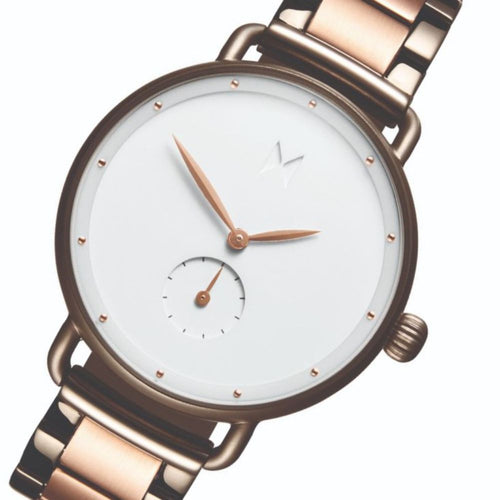 MVMT Bloom Taupe & Rose Gold Steel Ladies Watch - DFR01TIRGW