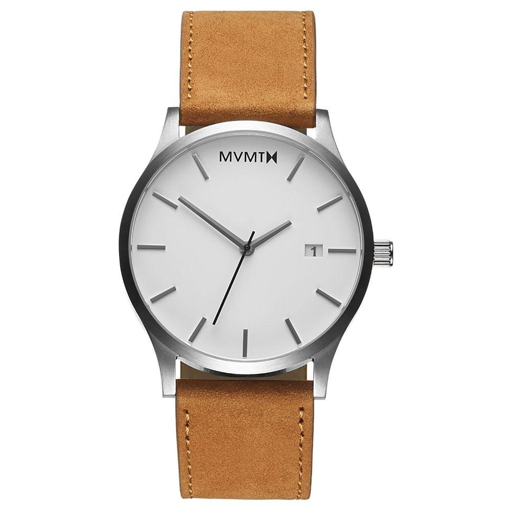MVMT Classic Tan Leather Men's Watch - DL2131L331