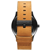 MVMT Classic Tan Leather Men's Watch - DL2135L351