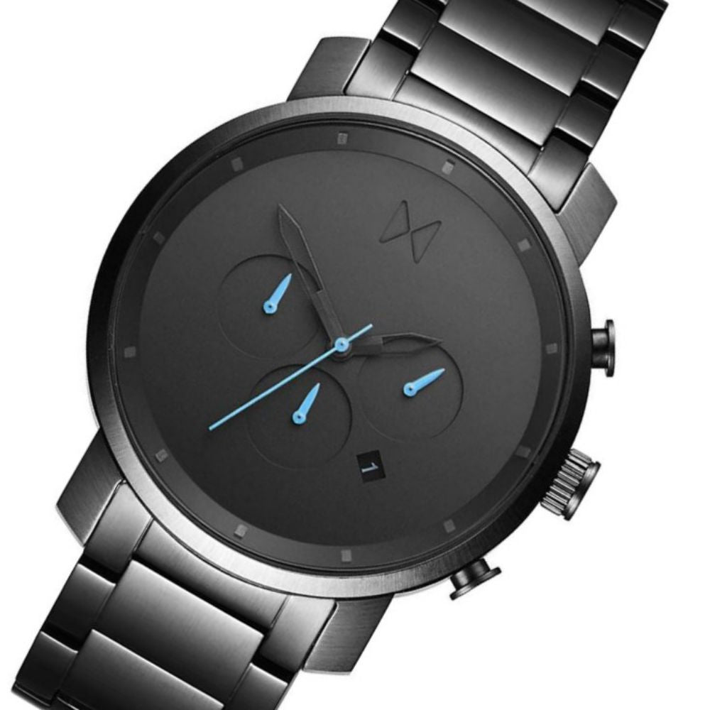 MVMT Chrono Gunmetal Steel Men's Watch - DMC01GU