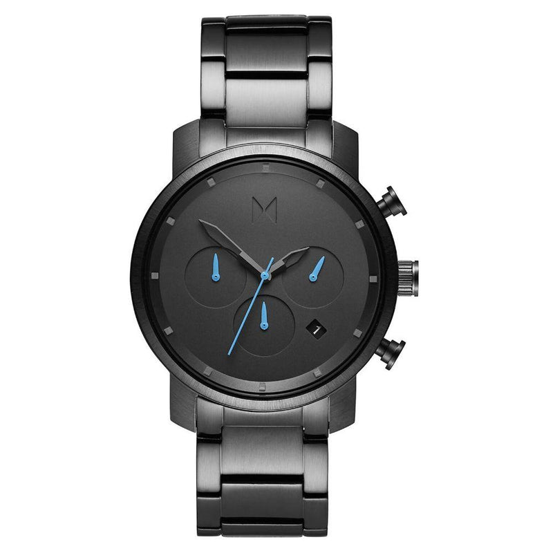 MVMT Chrono 40MM Gunmetal Steel Men's Watch - DMC02GU