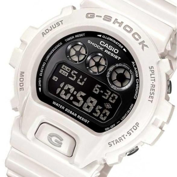 Casio G-SHOCK White Digital Watch - DW6900NB-7