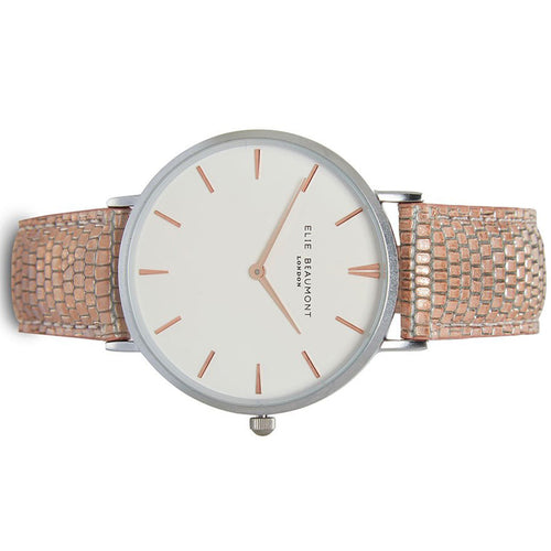 Elie Beaumont Sloane Pink Ladies Watch - EB819.2