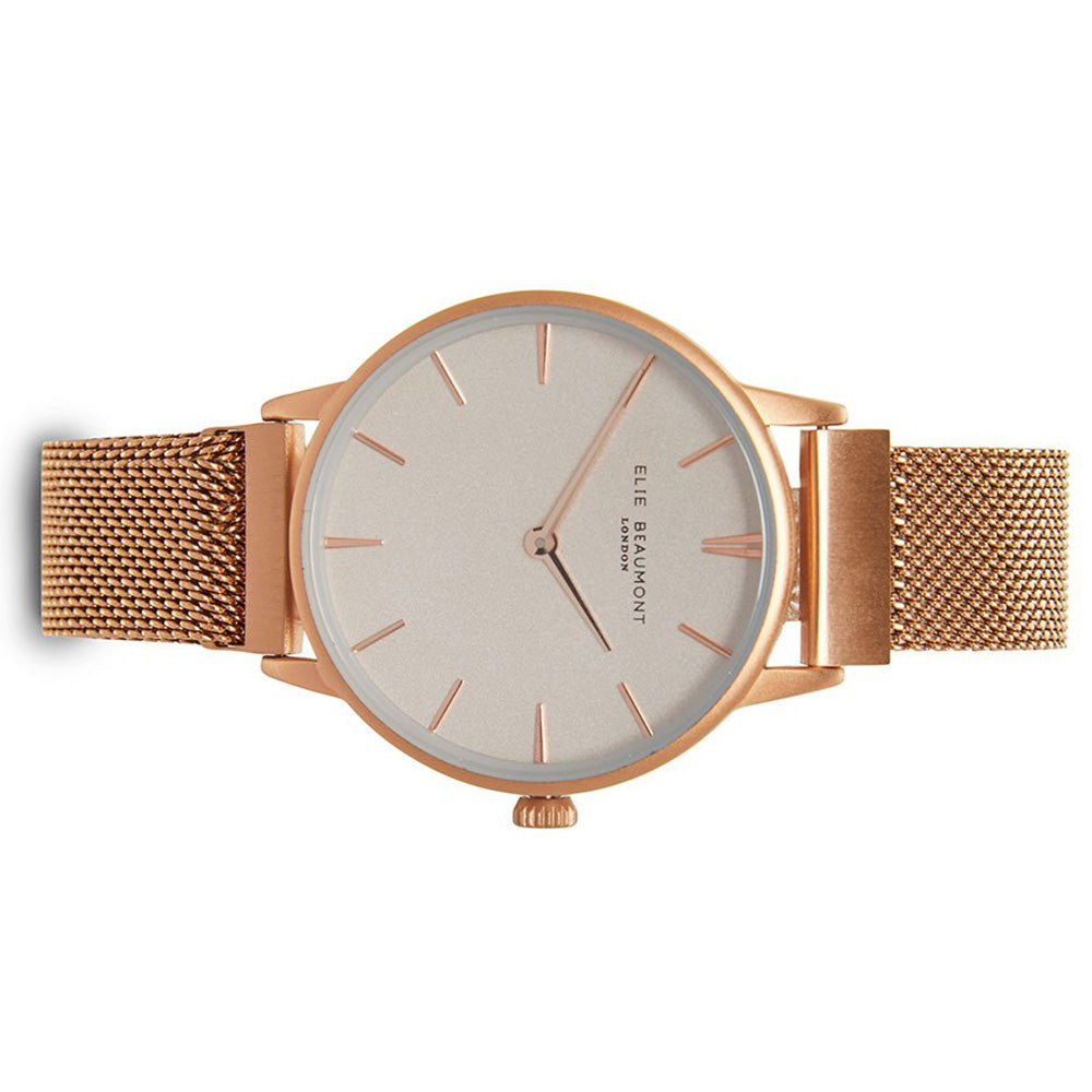 Elie Beaumont Holborn Magnetic Rose Gold Ladies Watch - EB820.1